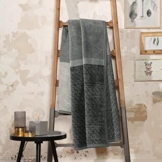 IBENA Cotton Blend Throw Darwin 'The Grey'