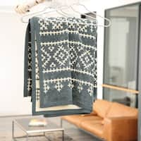 IBENA Jacquard Throw Blanket Haugesund