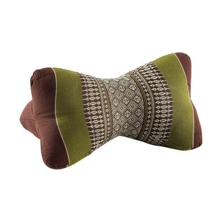 My Zen Home Star Kapok Back and Neck Support Pillow - Sage