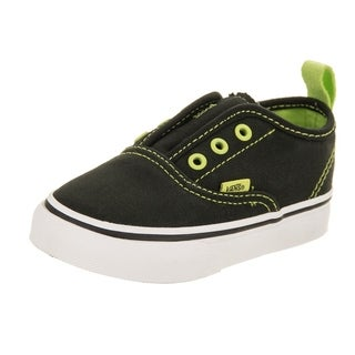 Vans Toddlers Authentic V (Pop Eyelets) Skate Shoe