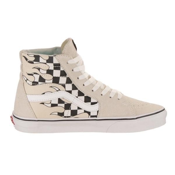 9224ebf948 Shop Vans Unisex Sk8-Hi (Checker Flame) Skate Shoe - Free Shipping ...