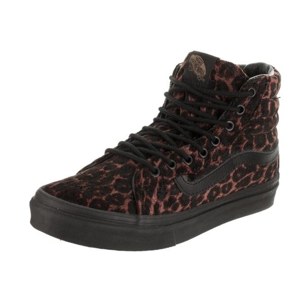 ed47af1783 Shop Vans Unisex Sk8-Hi Slim (Suede Leopard) Skate Shoe - Free ...