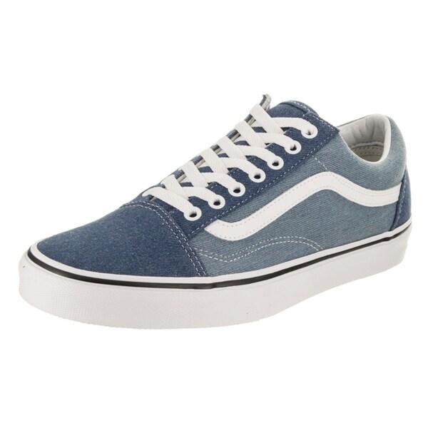 715671a379 Shop Vans Unisex Old Skool (Denim 2-tone) Skate Shoe - Free Shipping ...
