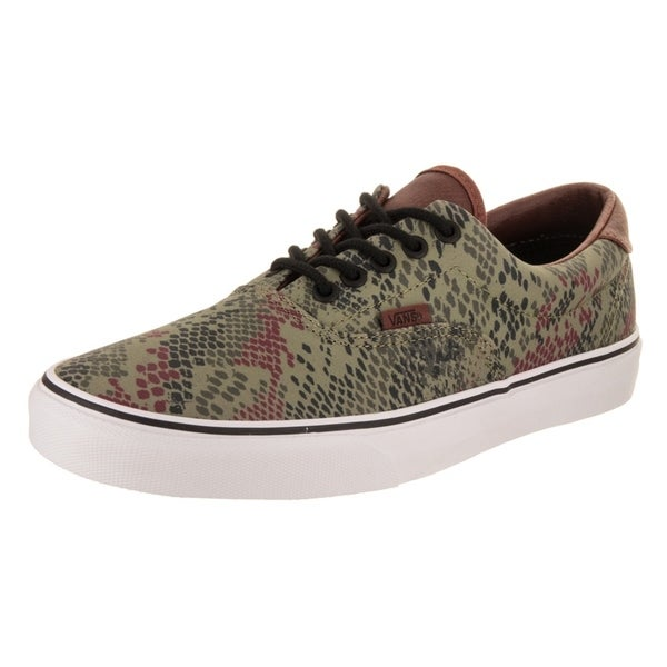 Shop Vans Unisex Era 59 (Snake Camo) Skate Shoe - Free Shipping ... 32926fdff526
