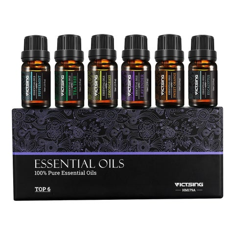VicTsing 100% Pure Aromatherapy Top 6 Essential Oils