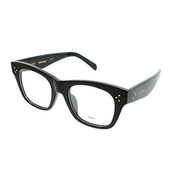 ff4dedda88f Celine Square CL 41367 F Cathrine Small Asian Fit 807 Unisex Black Frame  Eyeglasses