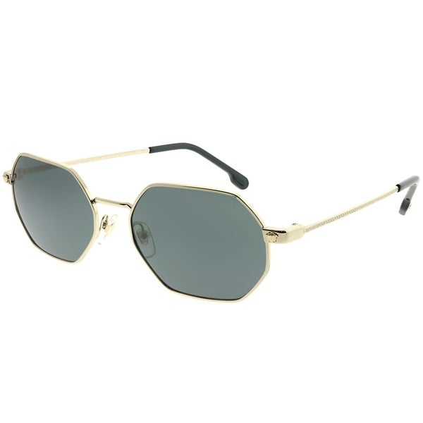 7b7a736e90943 Versace Rectangle VE 2194 125287 Unisex Pale Gold Frame Grey Lens Sunglasses