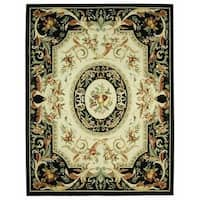 "Safavieh Hand-hooked Fruit Harvest Black Wool Rug - 8'9"" x 11'9"""