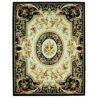 "Safavieh Hand-hooked Fruit Harvest Black Wool Rug - 8'-9"" x 11'-9"""