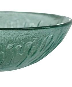 VIGO Icicles Glass Vessel Bathroom Sink - Thumbnail 2