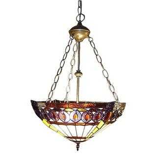 Amberjack Tiffany-style Hanging Lamp
