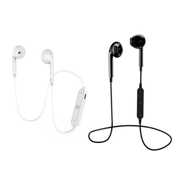 Shop S6 Sportss Wireless Bluetooth Headset For Iphone Samsung Overstock 22953284