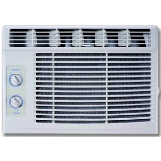 RCA 5000 BTU Window Air Conditioner with Mechanical Controls - White