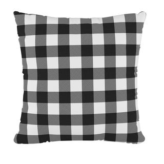 Skyline 18 inch Throw Pillow in Classic Gingham