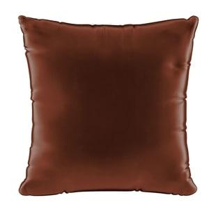 Skyline 18 inch Throw Pillow in Majestic Velvet