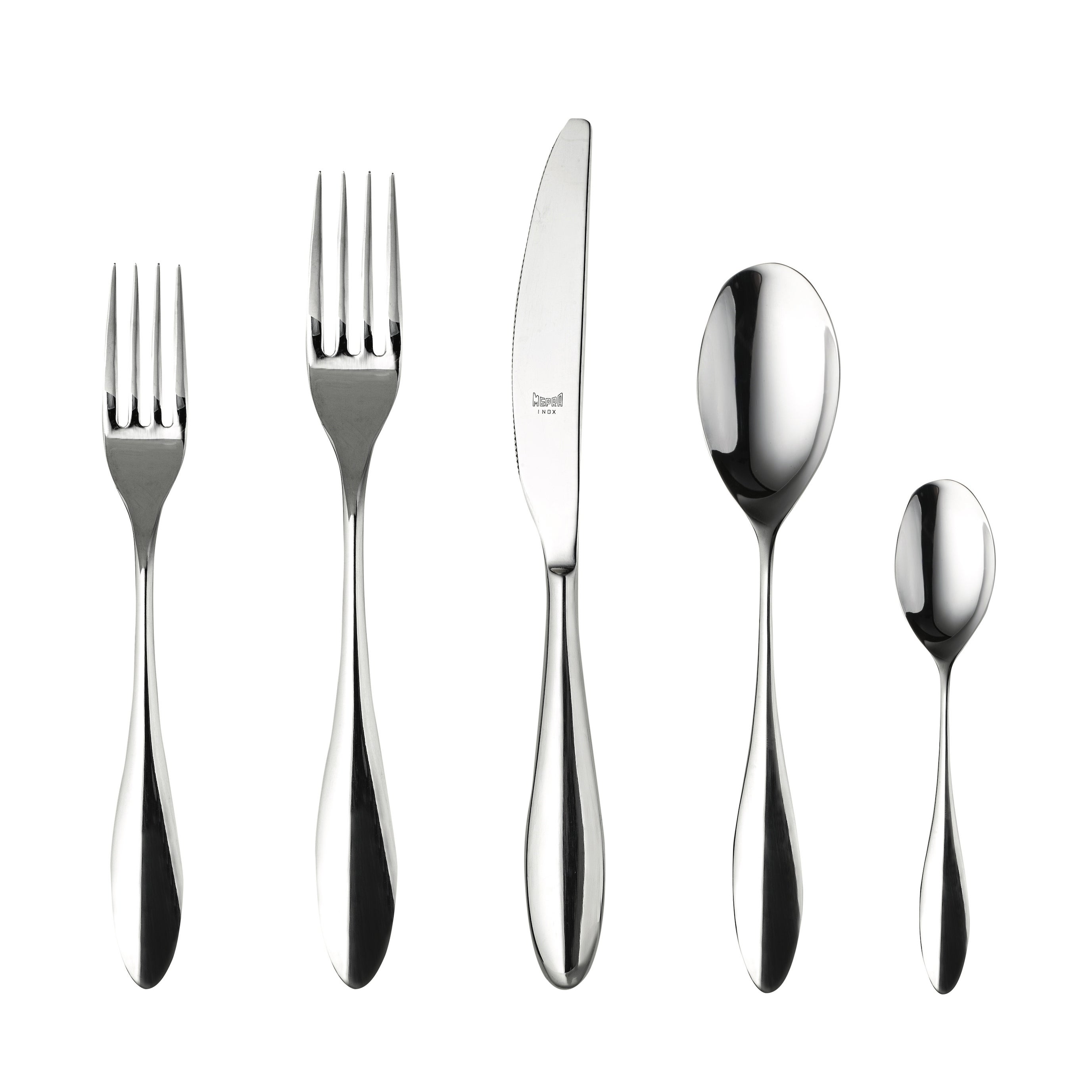 20 Piece Stainless Steel Carinzia Flatware Set Service For 4 Overstock 22963916
