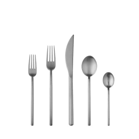 20-piece Stainless Steel Due Ice Flatware Set (Service for 4)