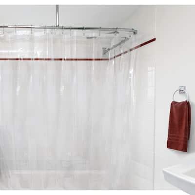 Porch & Den Nob Hill Clear Peva Shower Curtain Liner