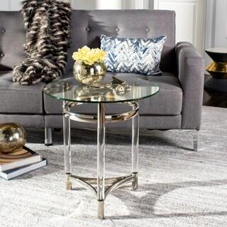 Shop Decorative Rustic Liberte Round Side Table Free