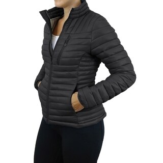 Spire By Galaxy Women's Lightweight Puffer Jackets