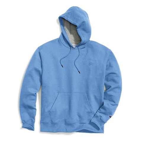 Champion Men's Powerblend; Fleece Pullover Hoodie