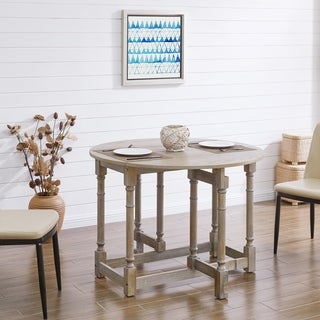 The Gray Barn Oriaga Drop-leaf Dining Table