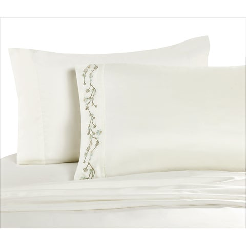 VCNY Home Sadie Embroidered Sheet Set