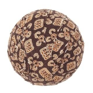 VHC Tacoma Rustic & Lodge Decor Round Fabric Ball Set of 6