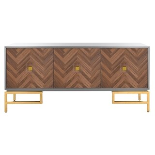 Safavieh Couture Sanford Walnut/Grey Sideboard