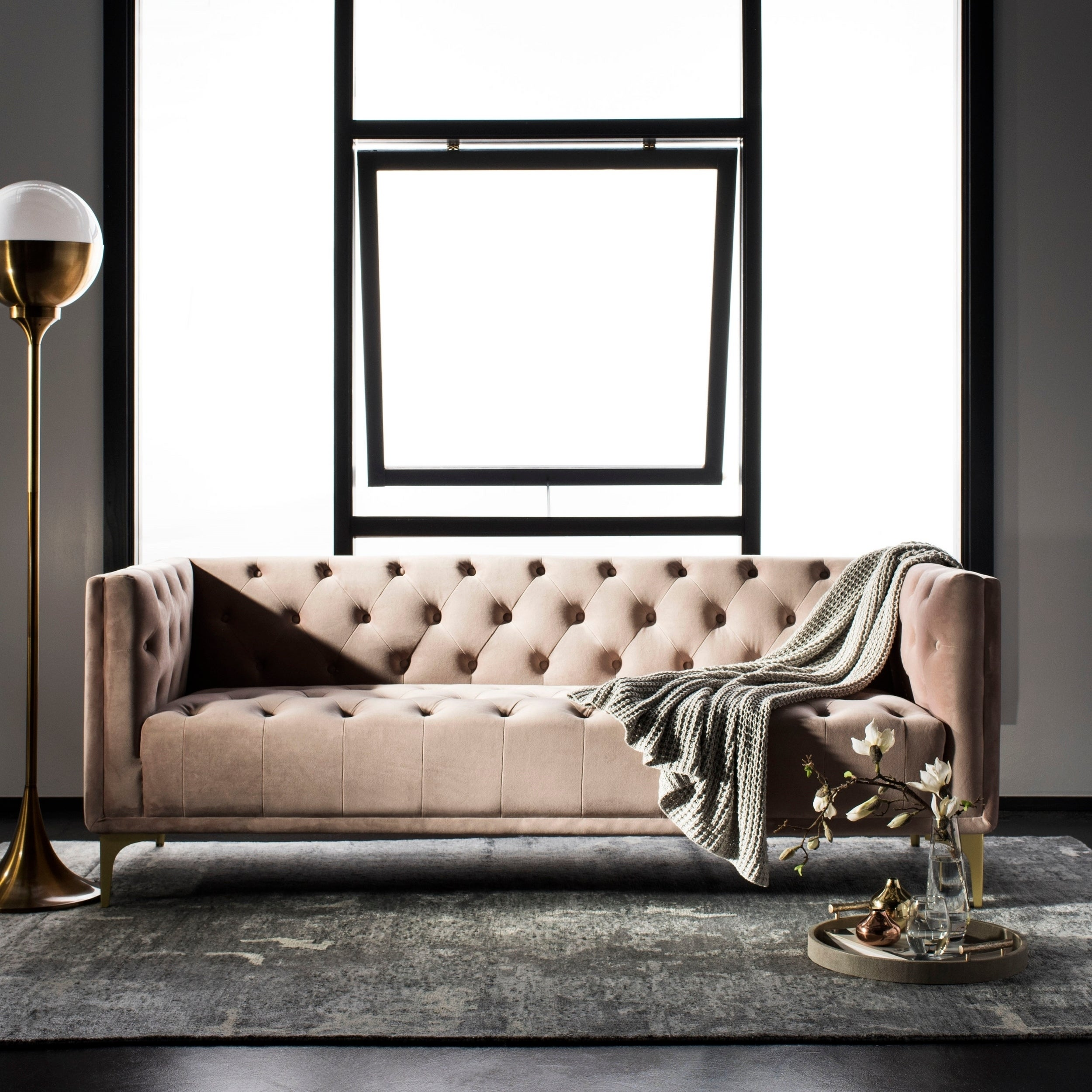 Safavieh Couture Floino Tufted Sofa
