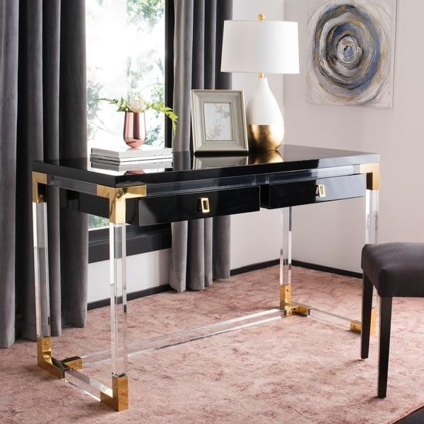 Safavieh Couture Dariela Acrylic Desk by Safavieh