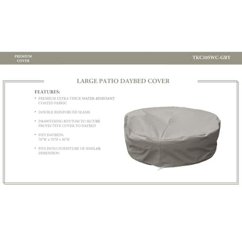 Oasis/Fairmont/Newport Sun Bed Protective Cover, in Grey