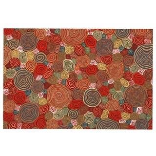 Liora Manne Big Spiral Mat (1'7 x 2'5)