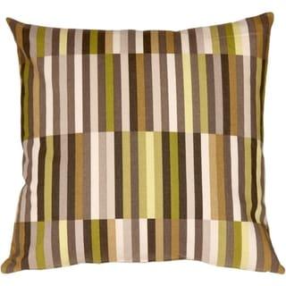 Pillow Decor - Waverly Side Step Avocado 20x20 Throw Pillow