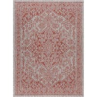 Alise Rugs Colonnade Traditional Medallion Area Rug - 8'9 x 12'3