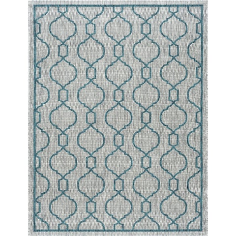 Alise Rugs Colonnade Transitional Geometric Area Rug - 9' x 12'