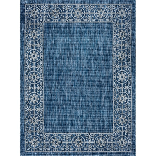 Alise Rugs Colonnade Traditional Border Area Rug - 8'9 x 12'3