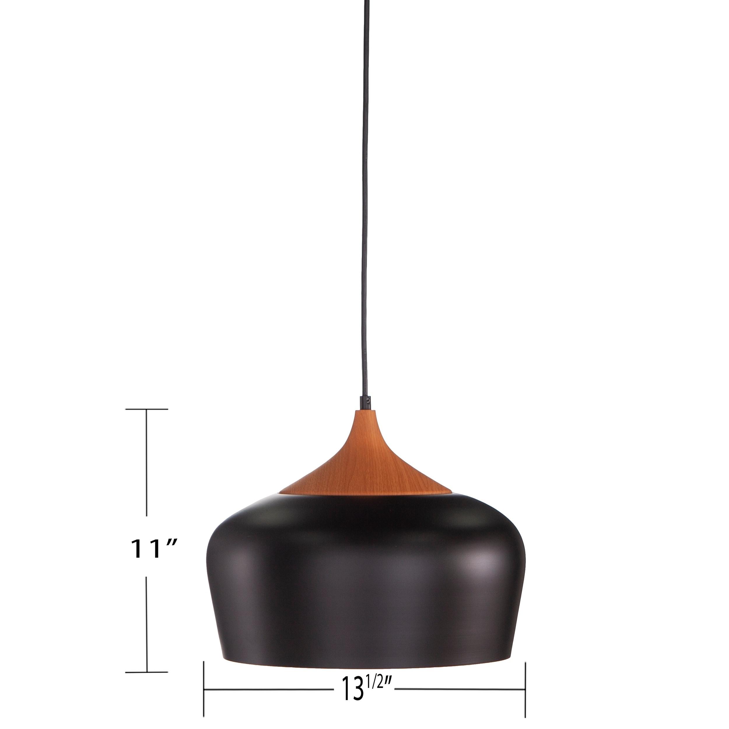 Carson Carrington Laugar Mid Century Modern Pendant Lamp