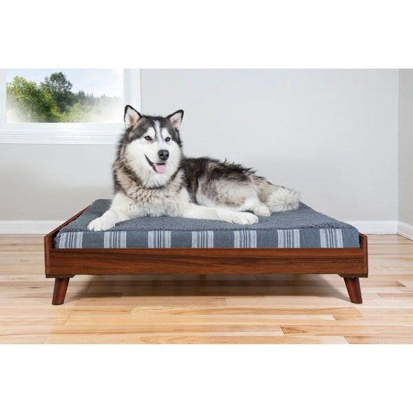 Furhaven Bed Frame For Sofa Style And Deluxe Mattress Dog Beds