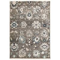 Antique Flowers Rug (4'11 x 7'5) - 4'11 x 7'5