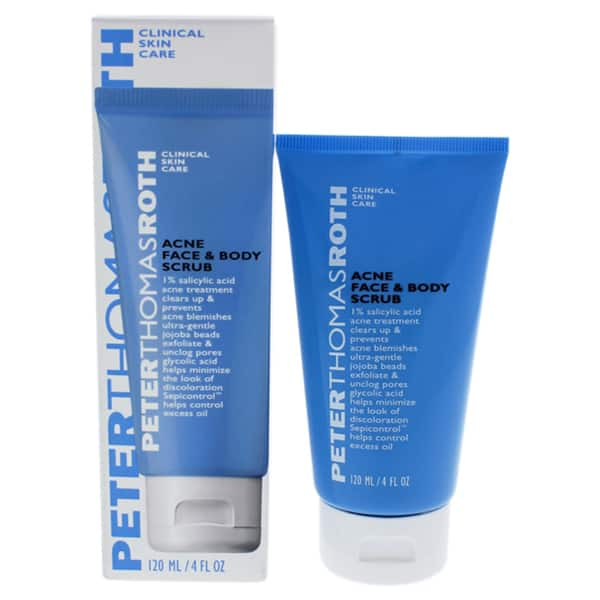 Shop Peter Thomas Roth 4 Ounce Acne Face Body Scrub Overstock