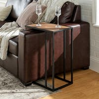 "20"" Urban Asymmetrical C Side Table - 12 x 19 x 24h"