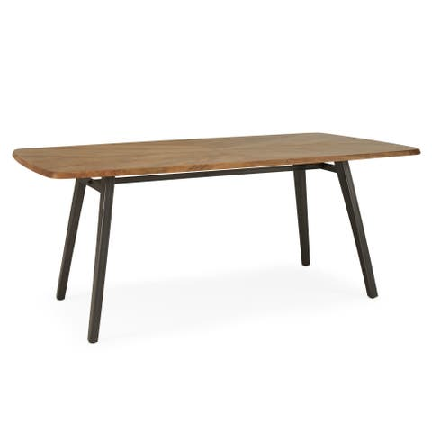 Logan Dining Table in Brown by RST Brands