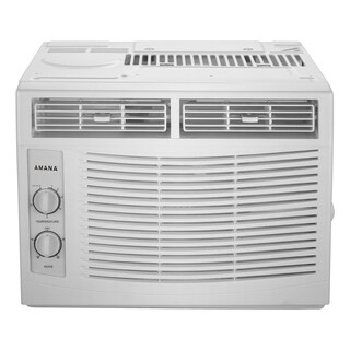Amana 5,000 BTU Window Mounted Air Conditioner with Mechanical Controls - White