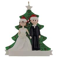 Maxora Personalization  Christmas Couple Ornament