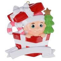Maxora Personalization  Baby 1st Christmas Ornament