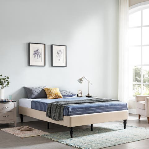 Merribee Fully-Upholstered Queen-Sized Bedframe by Christopher Knight Home