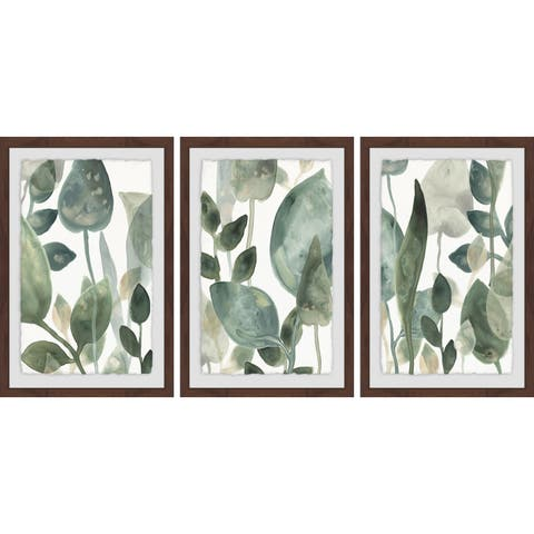 Marmont Hill - Handmade The Leaves Triptych