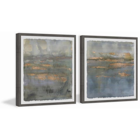 Marmont Hill - Handmade Copper Emulsion III Diptych