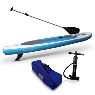SereneLife SLSUPB10 Thunder Wave - Stand Up Water Paddle-Board 10 Ft